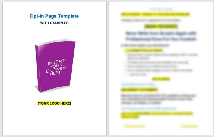 craft-opt-in-page-screenshot-template