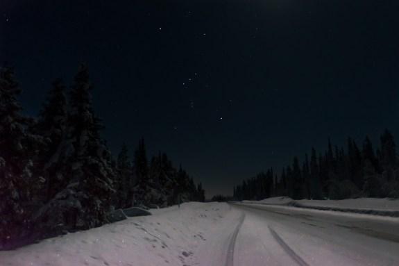 Under an Artic Sky