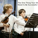 The One Thing Suzuki Violin Students Need to Be Successful