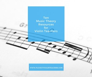10 Free Music Theory Resources for Violin Teachers