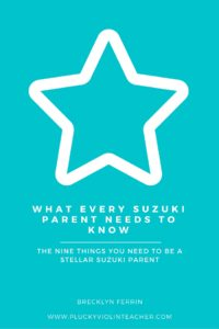 Is Suzuki Parent Education on your to-do list? Download this free guide to share with the parents in your Suzuki studio!