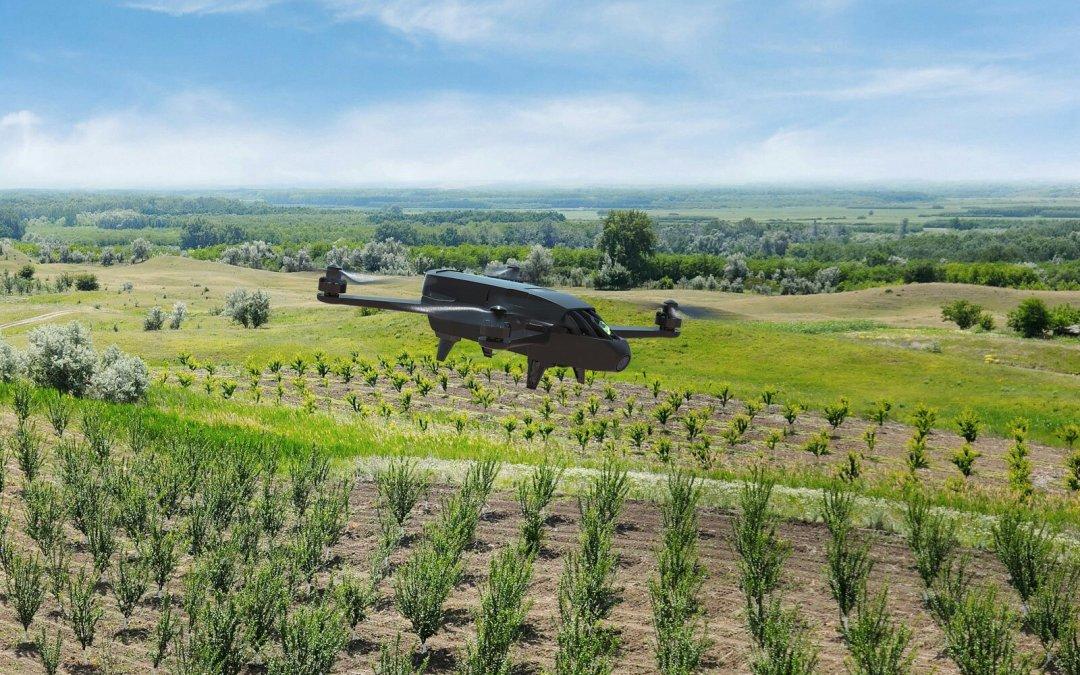 Los nuevos drones de Parrot están pensados para bomberos y granjeros
