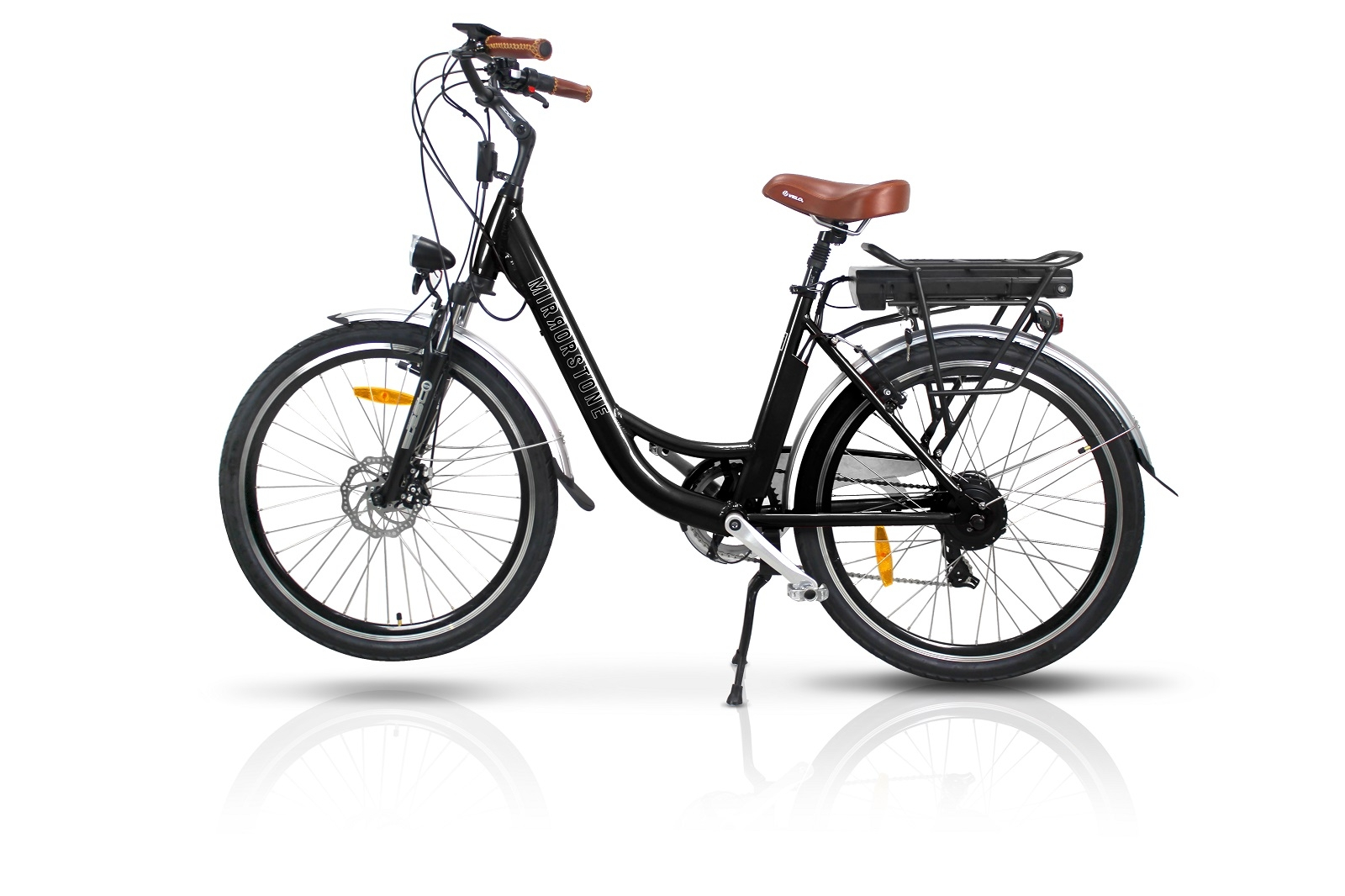 Dynamic Dutch Electric Bike Black 26 Wheels