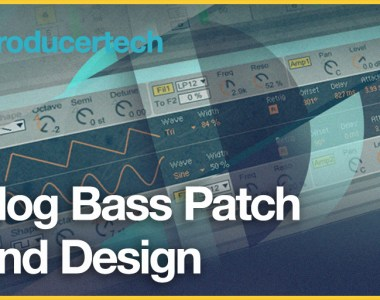 Producertech Analog Bass Patch Sound Design - Video Courses