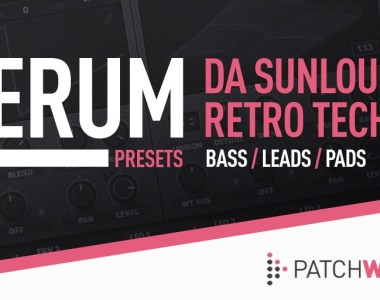 Loopmasters Da Sunlouge Retro Tech - Serum Presets - Soft Synth Presets