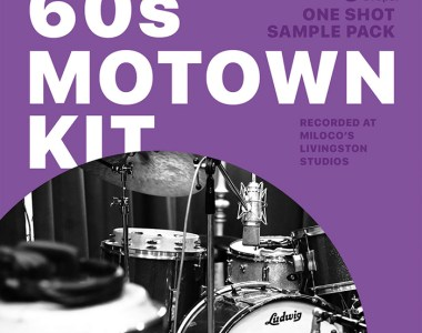 DrumDrops 60s Motown Kit - One Shot Sample Pack - Sample Packs