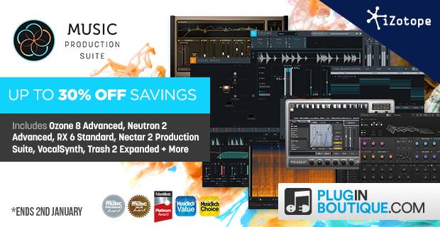 620x320 izotope music production suite 30 jan pluginboutique