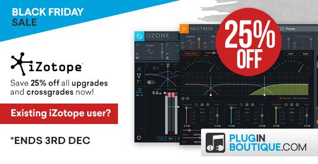 620x320 izotope upgradescrossgrades bf 25 pluginboutique
