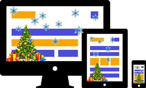 Xmas decoration - A WordPress plugin developed by ByConsole
