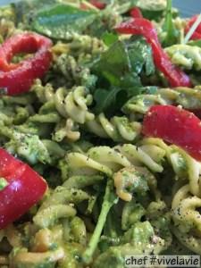 groene pastasalade