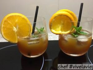 Passievrucht kaneel cocktail