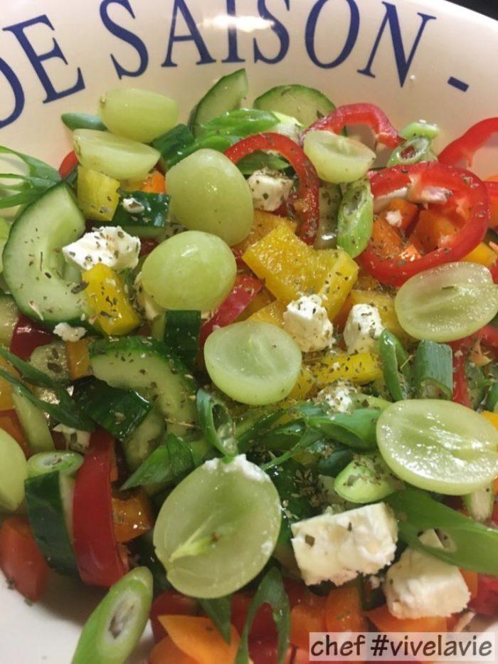 Salade waar je blij van wordt