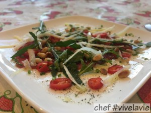 pittige mini carpaccio