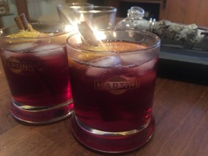 Spicy weekend cocktail met vermouth