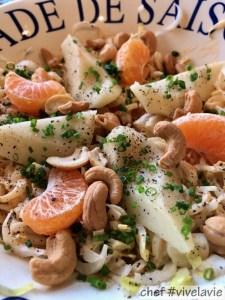 Witlof peer salade