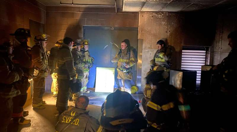 Local firefighters train at Washoe County Regional Training Center