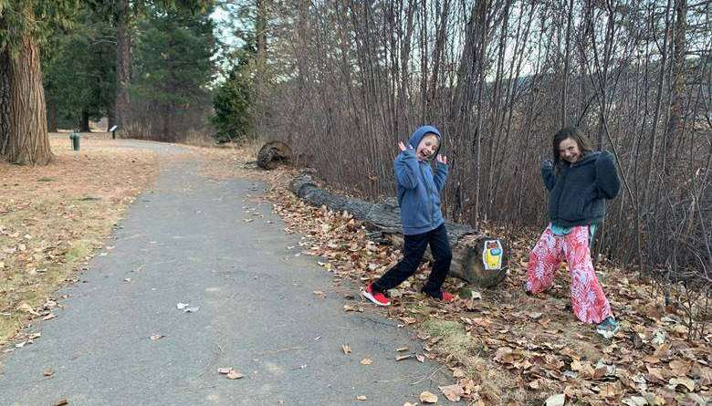 Quincy family develops fun activity to enjoy outdoors from Dec. 4-11
