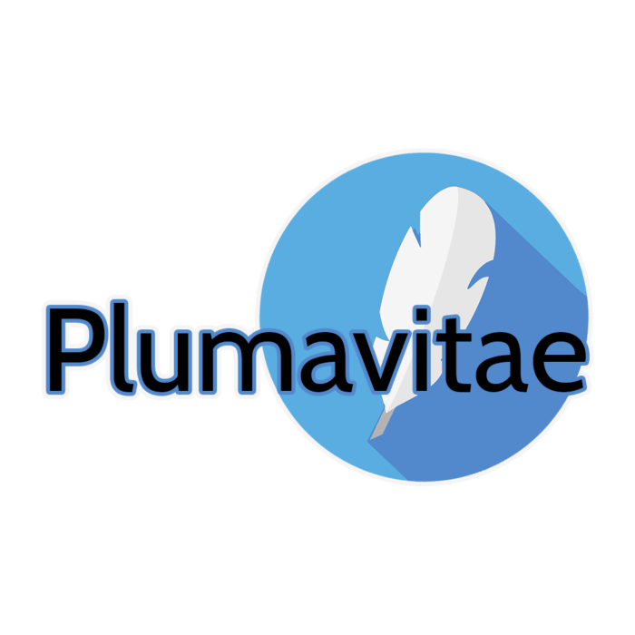 logo type plumavitae - beta lecture critique roman agent litteraire