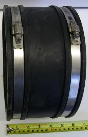 Flexible Rubber Pipe Connector Large 180mm 195mm