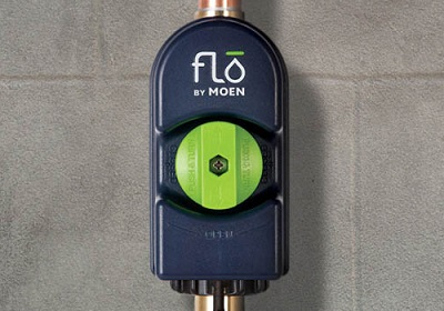 point of installation for moen flo