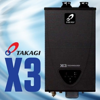 new takagi x3 tankless water heater release