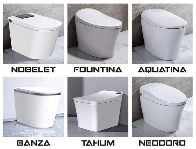 the six original trone bidet toilet combos