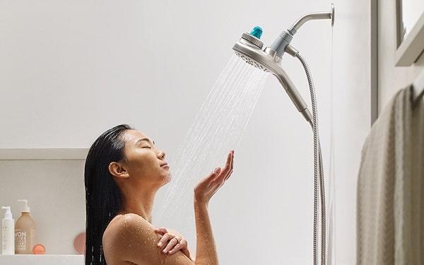 moen aromatherapy magnetix hand shower installed