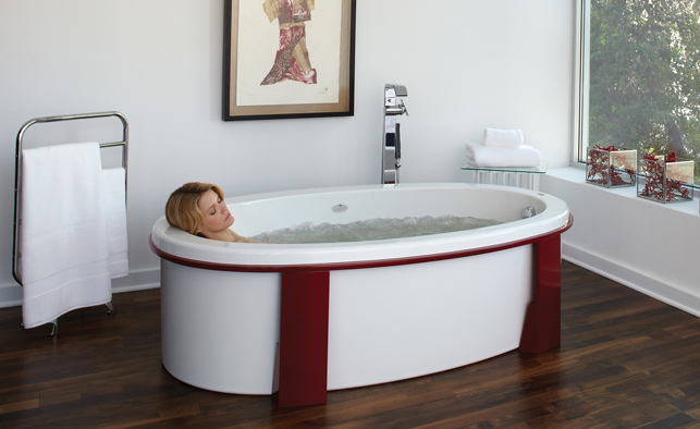 Jacuzzi Freestanding Soaking Tub Gifklikker
