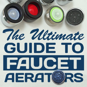 water conserving faucet aerator