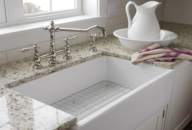 Fireclay Double Country Kitchen Sink Home Design And