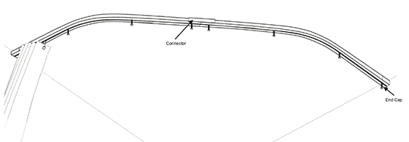Curtain Rod Corner Connector