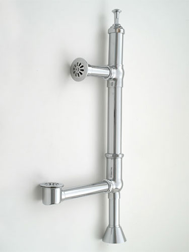 Deluxe Bathtub Drains Brass Construction Available In