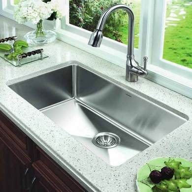 Kitchen Sink Buying Guide Single bowl kitchen sink Oversized Single Bowl