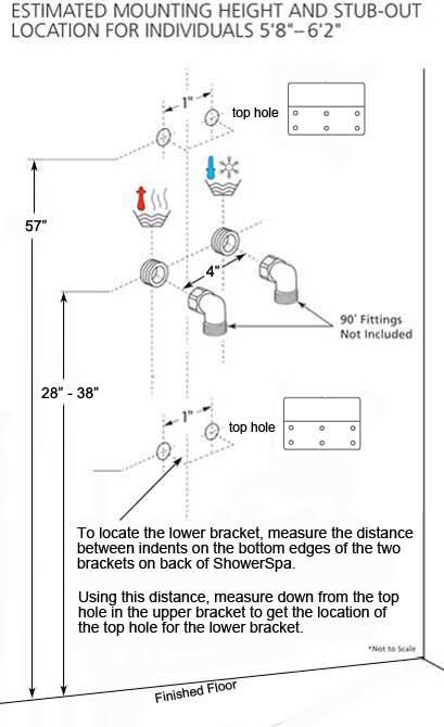 Designer Shower Columns With Hand Shower