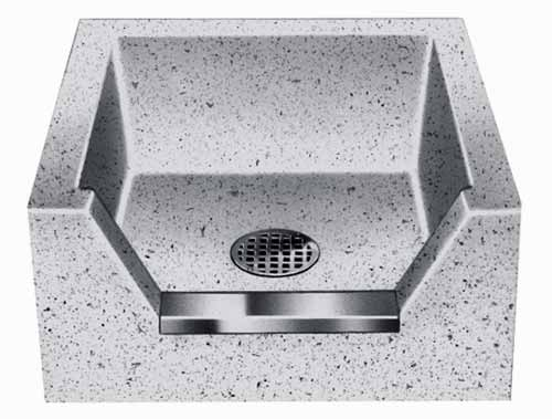 mop sinks and accessories for janitors