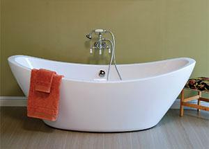clawfoot leg tub faucets