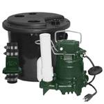 Zoeller drain pump system
