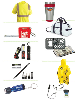 construction industry promotional items