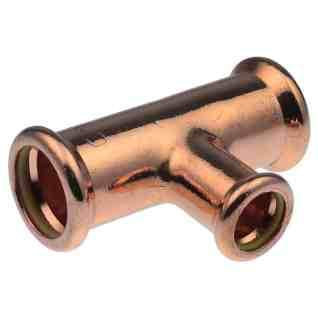 XPRESS YORKSHIRE PRESS-FIT GAS COPPER REDUCING BRANCH TEE