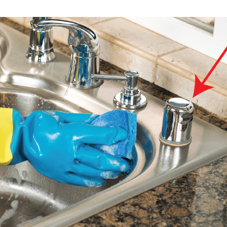 how to install a dishwasher air gap kit