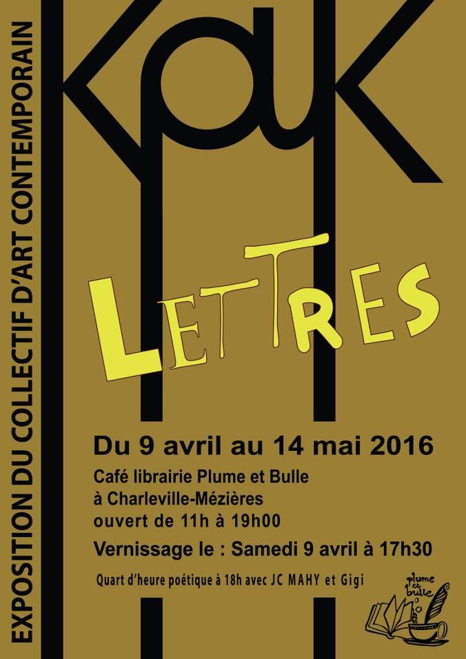 Expo KaK Lettres