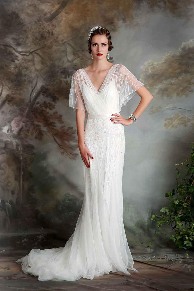 Robe de mari e ann es 20 plume paris for Vintage wedding dresses paris