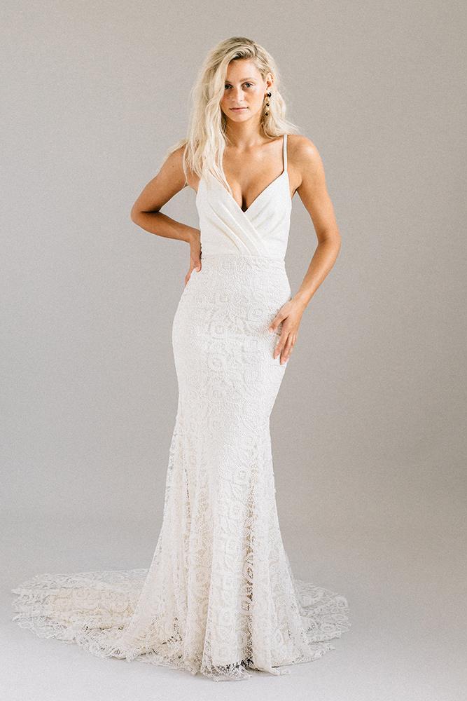 Robe de mariée Laudae Corta