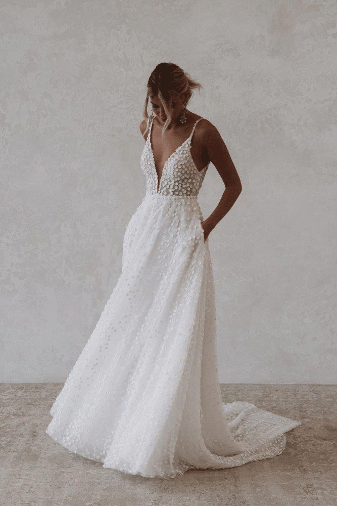 Robe de mariée Made With Love Louie Flowy