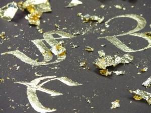 Stages de calligraphie et enluminure, Amélie Dhesse, Plumes et Calames