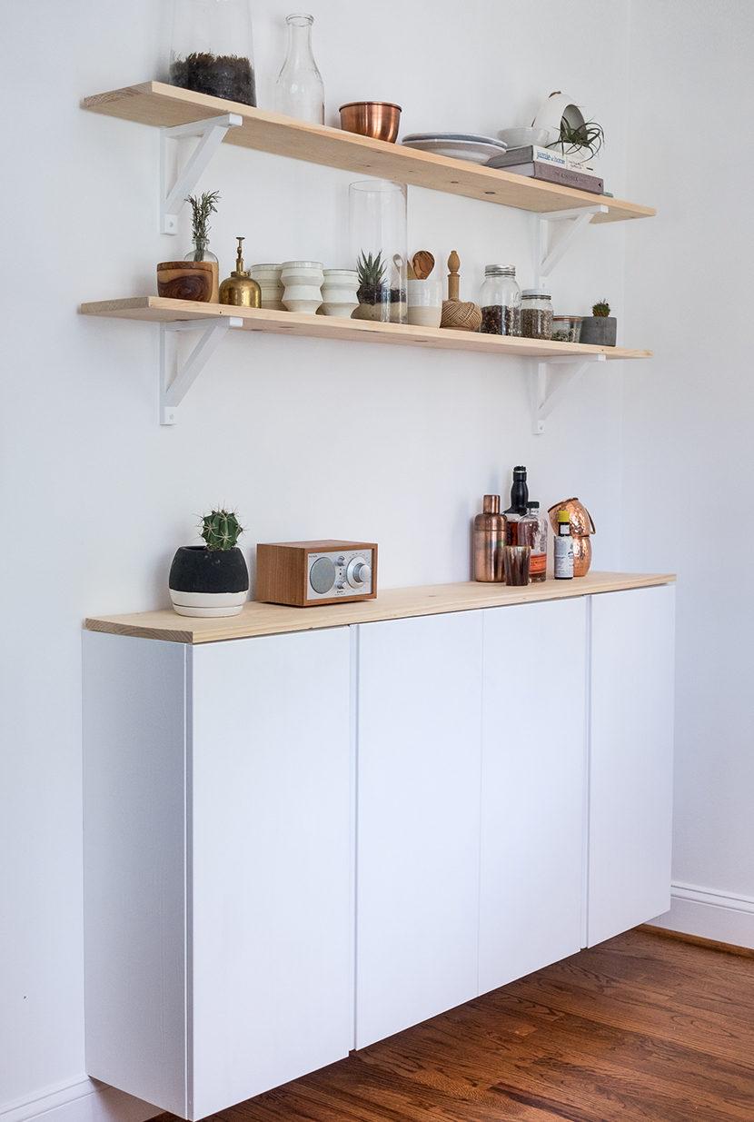 Home Sweet Home Avec Des Caissons Ikea Ivar Plumetis