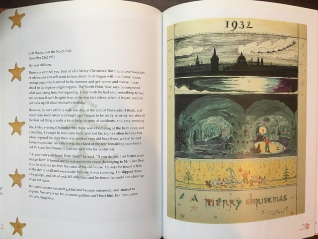 Letters from father christmas plumfield and paideia several years ago i discovered this beautiful book published posthumously by christopher tolkien jrr tolkien never really meant these for public spiritdancerdesigns Gallery
