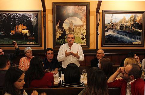 José Luís Prada A Tope en Madrid. Plumilla Berciano