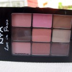 NYX Love in Paris Eye Shadow Palette: Let them Eat Cake Swatches