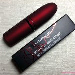 Red Lipstick for Valentine's Day with MAC Viva Glam Rihanna Lipstick 2014!